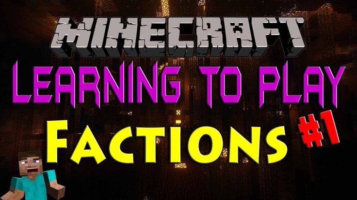 Minecraft Factions - Learning the Basics #1