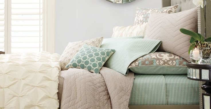Style your bedroom with this gorgeous bed. Shop the look now!