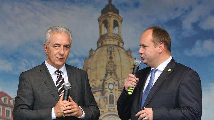 Bürgerfest zum Tag der Einheit Tillich In den Anstrengungen nicht nachlassen - Bayerischer Rundfunk