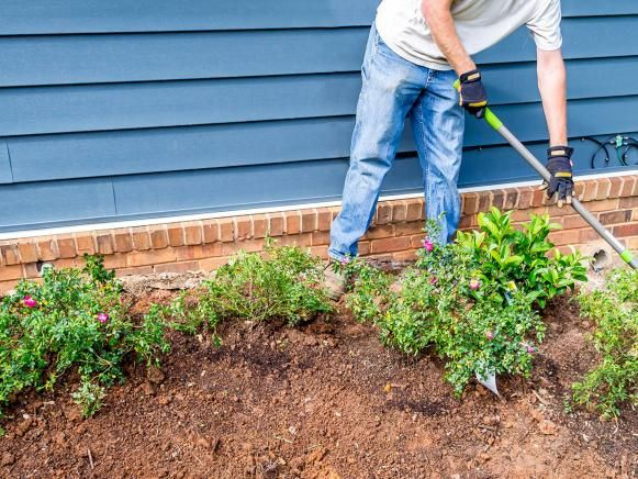 Adding an S Curve to Garden Bed