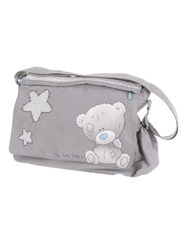 Tiny Tatty Teddy Changing Bag - Grey | woolworths.co.uk
