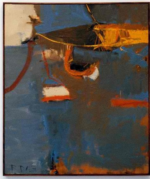 """Richard Diebenkorn, """"Untitled"""", 1949"""