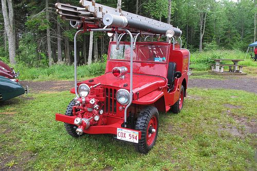 1947 Willys Jeep fire truck