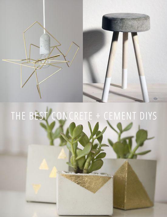 16 Best Concrete And Cement DIYs