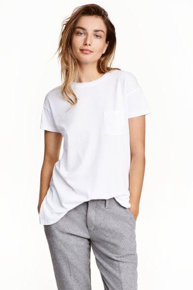 Bawełniany T-shirt | H&M