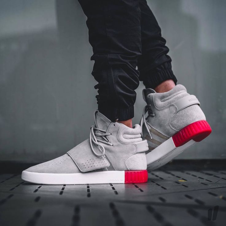 Adidas Tubular Invader Strap Grey