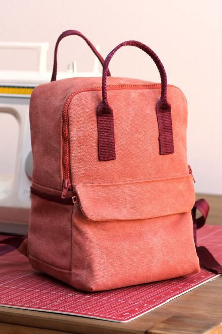 Photo of Sew practical backpack