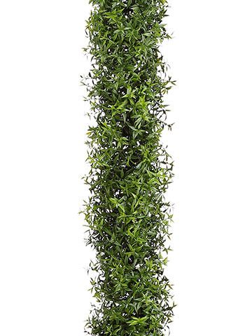 Get artificial greenery garlands to use as table runners like this lovely green plastic eucalyptus leaf garland. Dress up event tables, chairs, arches, or add silk flowers for a gorgeous DIY wedding d