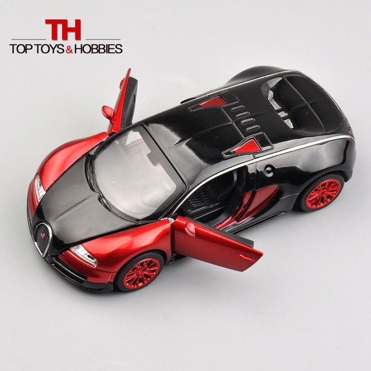 1:32 Scale Bugatti Veyron coches jugetes Diecast Car Model autos a escala Pull Back… - https://www.luxury.guugles.com/132-scale-bugatti-veyron-coches-jugetes-diecast-car-model-autos-a-escala-pull-back/