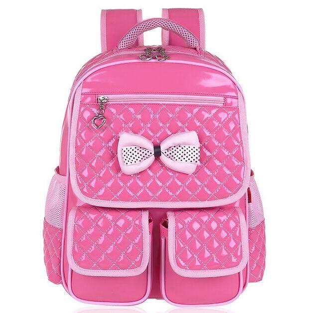 3D Waterproof Children Shoulders School Bags Comfortable Thicken Soft School Girls Backpack Kids Mochila Backpack