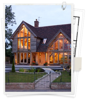 Oak Frame Houses and Oak Framed Buildings, Buildings Design