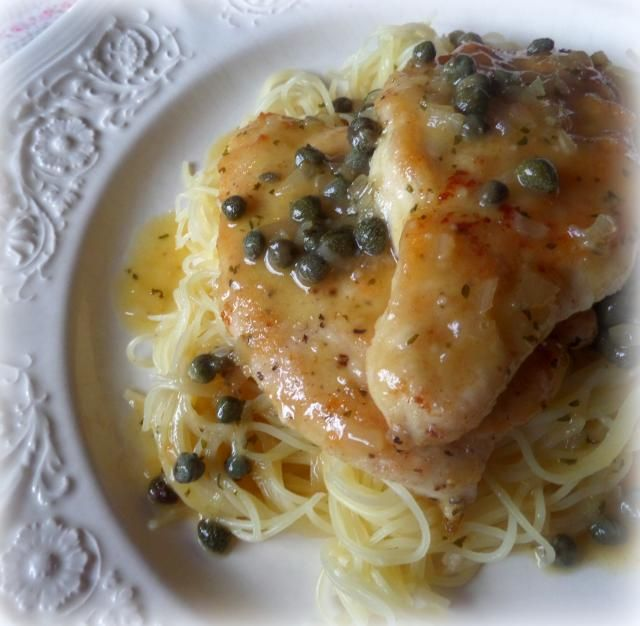 Chicken Filets with a Lemon and Caper Saucefrom The English Kitchen