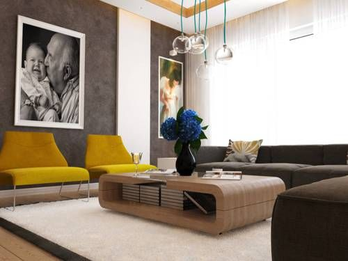 195 best ideas para decorar salas images on pinterest for Como decorar tu sala