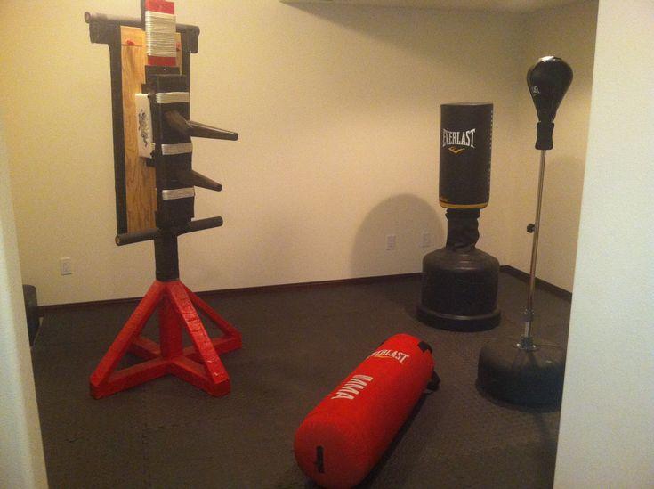 Home martial arts equipment