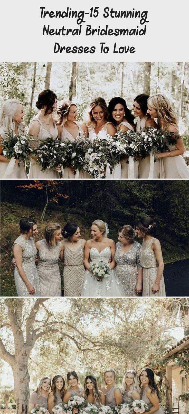 neutral champagne bridesmaid dresses #obde #weddingideas2019 #BridesmaidDressesVintage #MaroonBridesmaidDresses #PinkBridesmaidDresses #BridesmaidDressesPlusSize #AfricanBridesmaidDresses