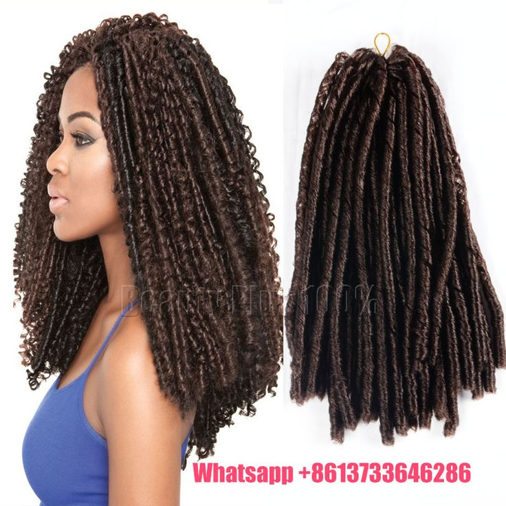 "New Arrival Mega Hair 14""fold Soft Dread Hair Crochet Braids Dreadlock Softex Extensions  Black Afro Kinky Bulk Faux Locs"