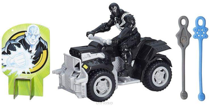 Spider-Man Агент Веном на боевом квадроцикле