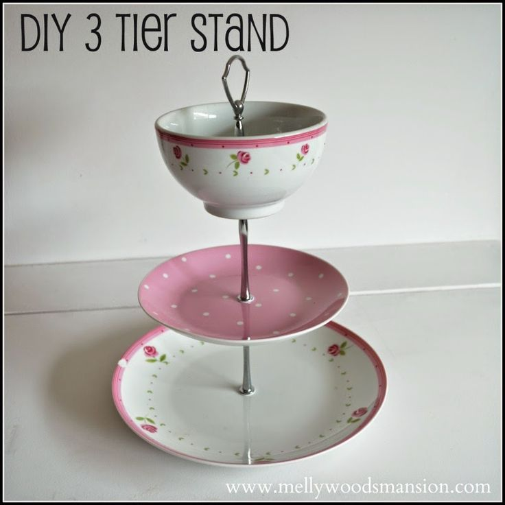 Diy 3 Tier Jewelry Stand: 211 Best Glassware & Dishes Images On Pinterest