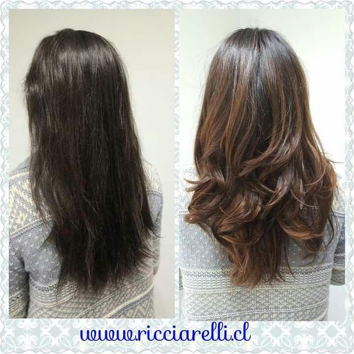 Bronde y Tratamiento Full Olaplex #olaplex #reparacióncapilar #brownbalayage #bronde #PeluqueriaRicciarelli #haircolor #hair