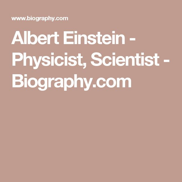 a biography of the life and achievements of renowned physicist albert einstein The einstein family is the family of the renowned physicist albert einstein (1879–1955) einstein's great-great-great-great-grandfather, jakob weil, was his oldest recorded relative, born in the late 17th century, and the family continues to this day.