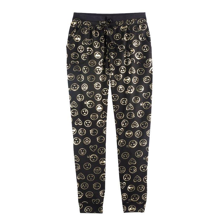 Girls 7-16 SO® Pocket Jogger Pants, Size: 10, Black