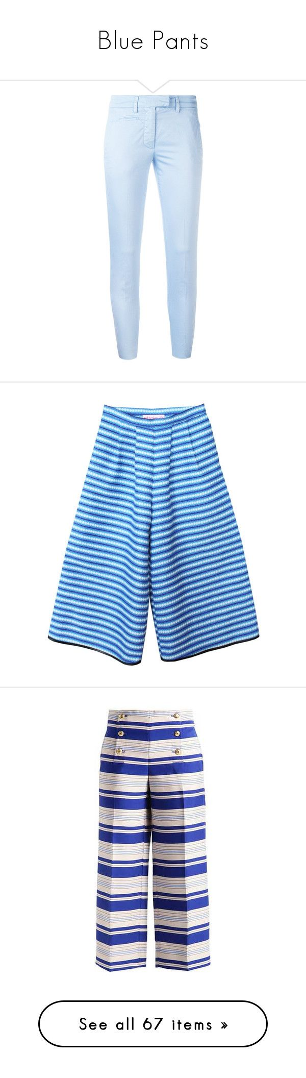 """Blue Pants"" by kikikoji ❤ liked on Polyvore featuring pants, jeans, bottoms, denim, light blue, light blue pants, skinny trousers, dondup, skinny pants and blue skinny pants"