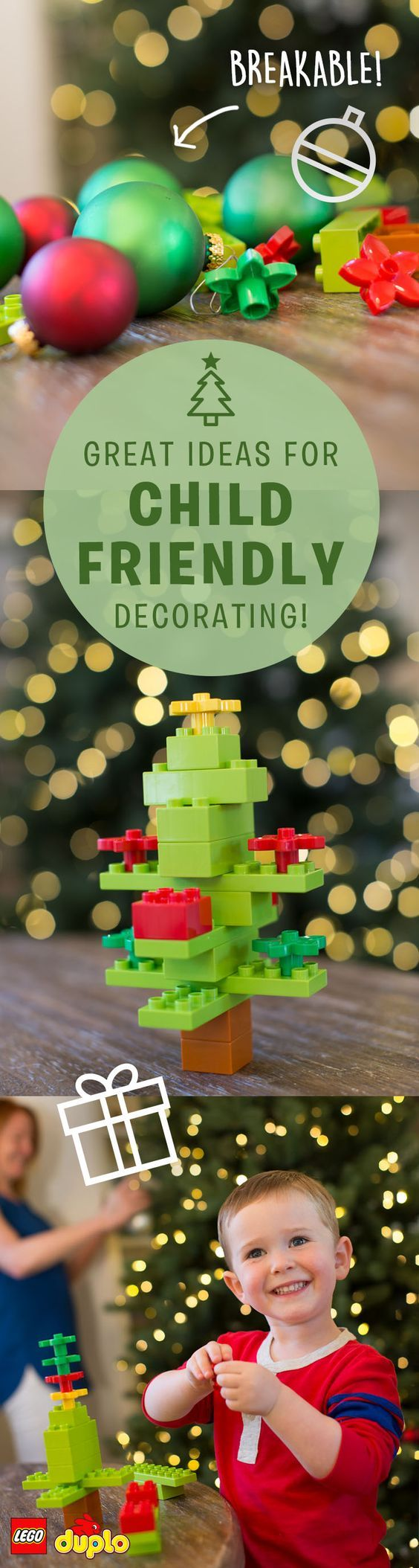 Deck the halls with LEGO DUPLO!