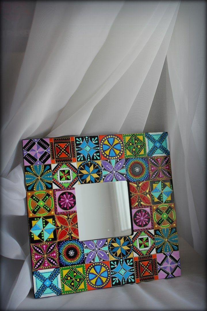 Зеркало - Мексиканская плитка