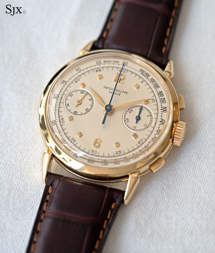 fb1bd66b325dc Vintage Watches Collection   Patek Philippe 1579 yellow gold 1   Relógios  em 2019   Reloj, Relojeria e Joyas
