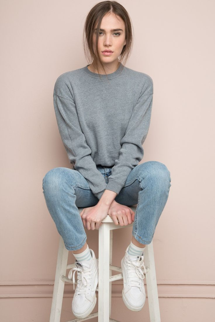 Brandy ♥ Melville | Orlena Sweatshirt - Pullovers - Sweaters - Clothing