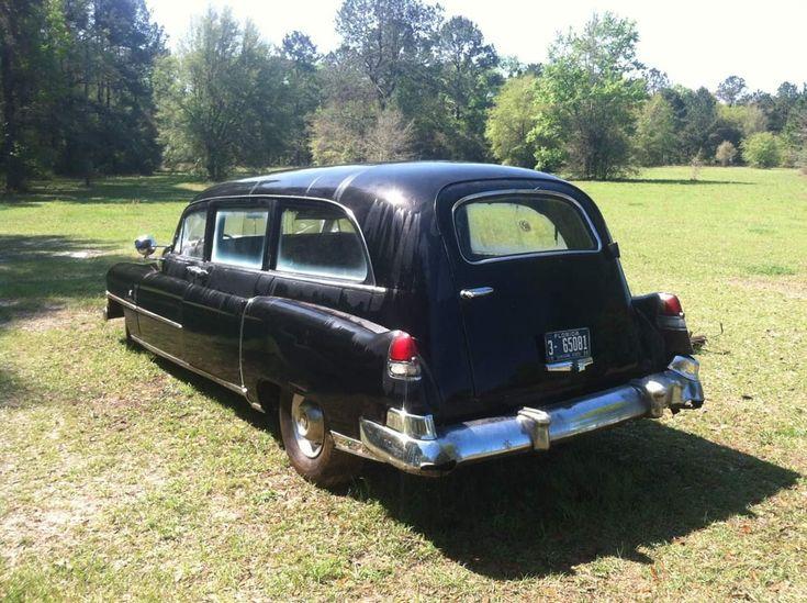 1952 Cadillac hearse