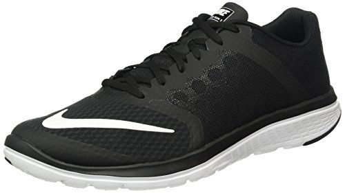 Nike Mens FS Lite Run 3 Running Shoe Black/White 11 D(M) US