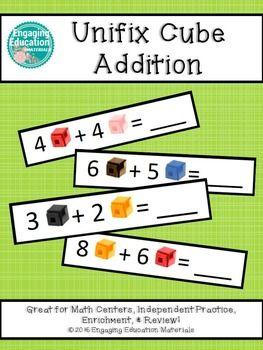 Unifix Cube Addition