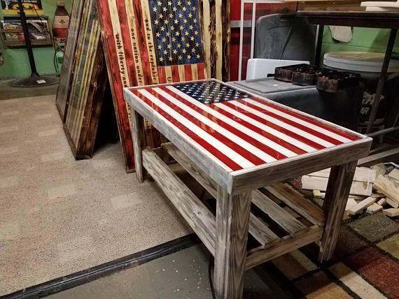 3ft X 20 X 20 Tall Epoxy Top With A Metal Inlay Wood Has A