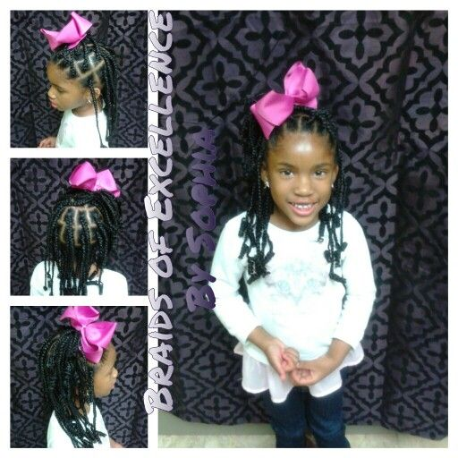 Kids box braids.