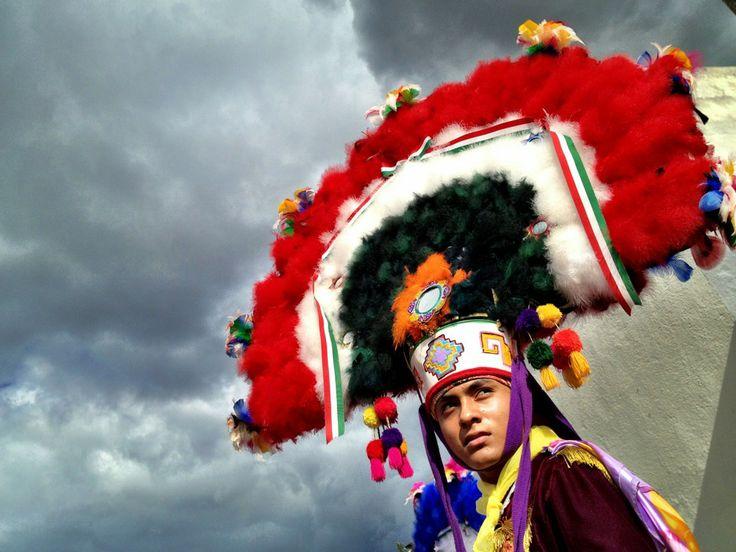 Danza de la pluma Oaxaca