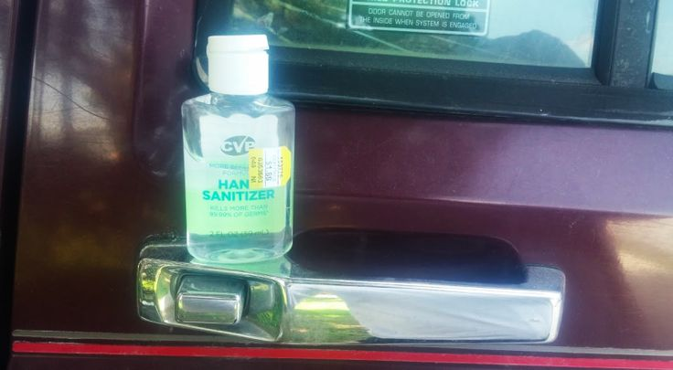 You Can Use Hand Sanitizer To Remove Tree Sap From Your Car