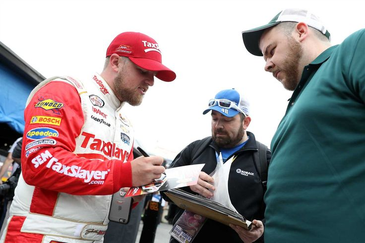 At-track photos: Friday, Dover    Friday, May 13, 2016  -   DOVER, DE -- MAY 13: Justin Allgaier, driver of the No. 7 TaxSlayer.com Chevrolet, looks on during practice for the NASCAR XFINITY Series Ollie's Bargain Outlet 200 at Dover International Speedway on May 13, 2016 in Dover, Delaware.