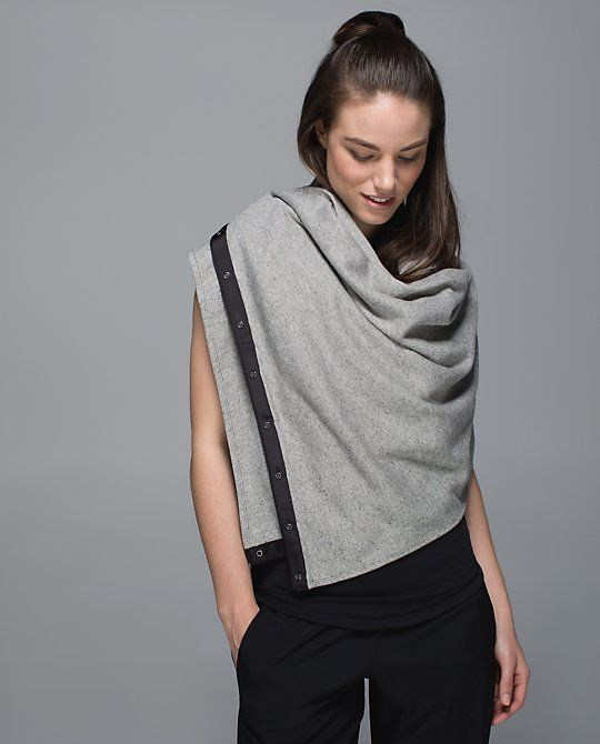 I am literally obsessed with this scarf-- which is actually a shawl,sweater,and hood plus SCARF.. I can't wait for our Southern Fall weather to wear it...Vinyasa Scarf*Cotton