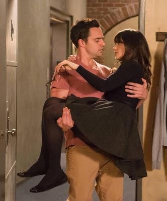 "Jess's J. Crew Painter Boatneck Tee New Girl Season 2, Episode 23: ""Virgins"" - Spotted on TV"