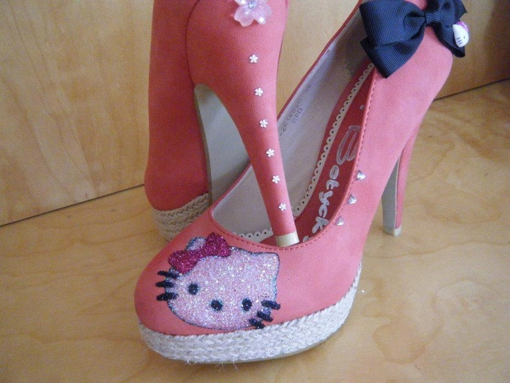 Zapatos rojos Hello Kitty infantiles xcsIoMY