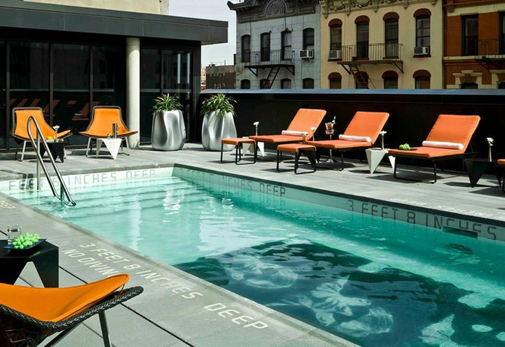 Piscina sul tetto del Thompson LES – New York