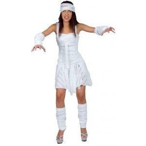 Déguisement Momie The Mummy blanche femme