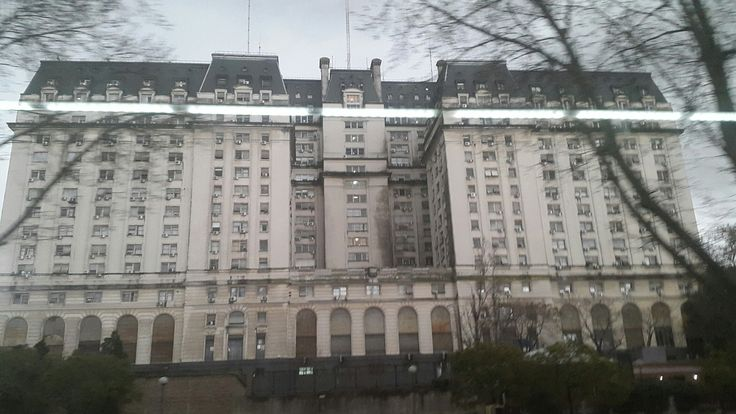 """Buenos Aires Ministry of Defence """"Casa Ugly""""."""