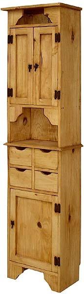 Rustic Pine Collection - Kitchen Storage Unit - ACC21