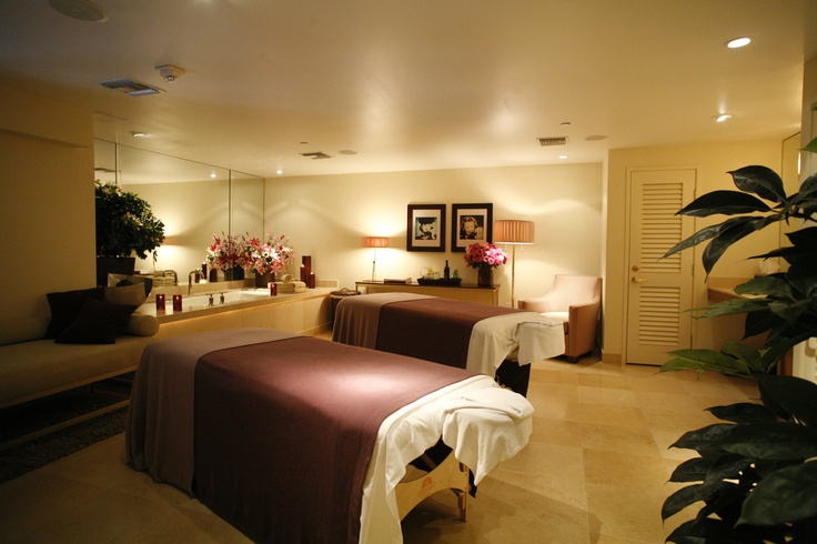 Treatments room.