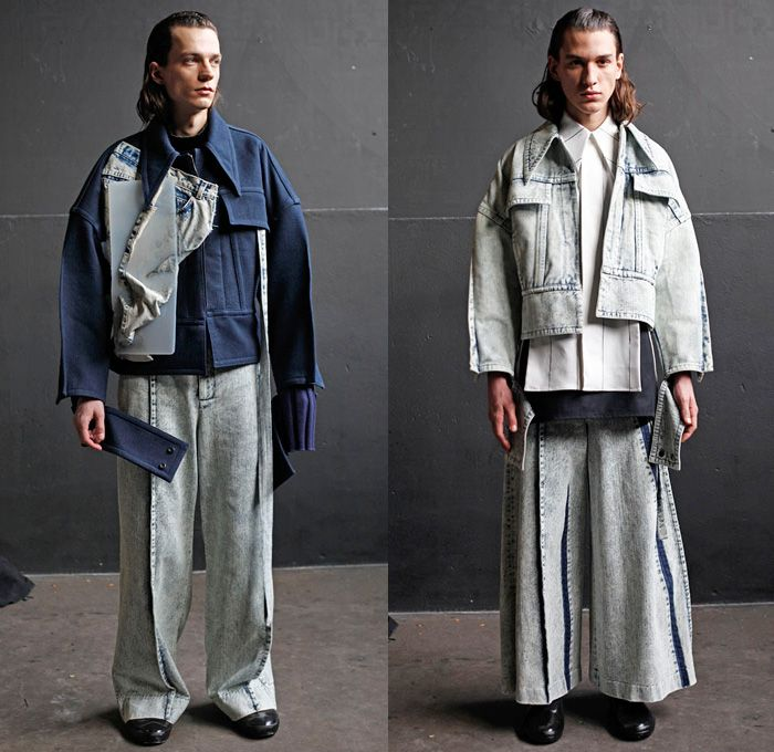 Ximon Lee 2016-2017 Fall Autumn Winter Mens Lookbook Presentation - Mode à Paris Fashion Week Mode Masculine France - Silicone…