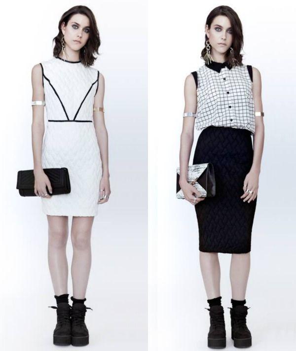 Tendance AH1415: Sportswear Chic #ah1415 #tendance #sportswear #chic #matelassé #evegravel Eve Gravel Robe 220$ Jupe 138$