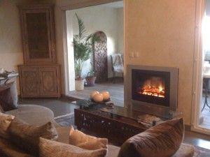 17 best images about foyer on pinterest mantels foyers - Decoration de cheminee avec insert ...