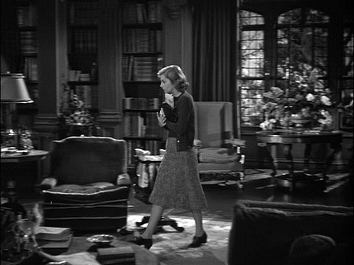 Rebecca - Manderley - Library: Movie